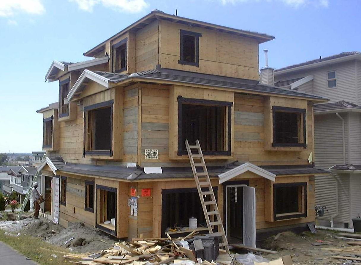 Проекты дачных каркасных домов